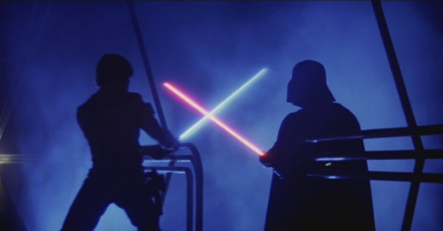 Star Wars Light Saber fight