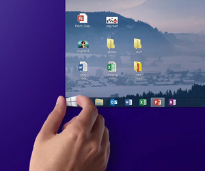 Windows 8.1 start button ad