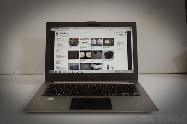 Silk Road laptop
