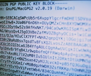 PGP encryption key