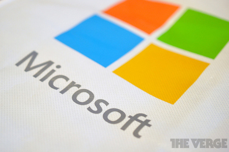 New Microsoft Logo stock