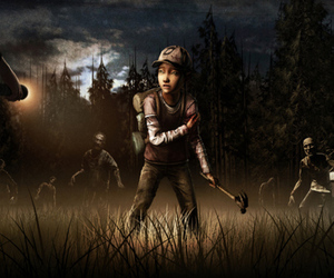 The Walking Dead season 2 art