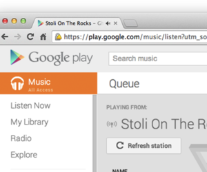 google chrome beta audio tab