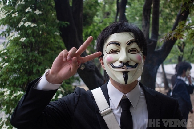 Anonymous has reportedly been