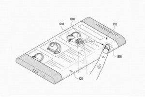 Gallery Photo: Samsung 'bended display' patent application