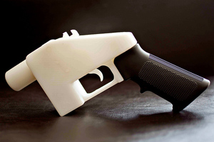 The Liberator 3d-printed gun defense distributed