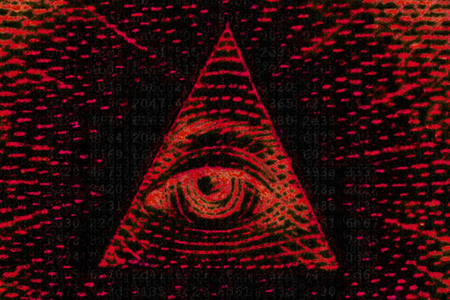 NSA panopticon red