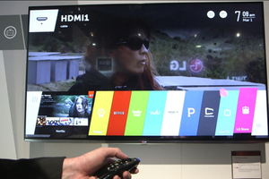 Hands-on LG WebOS