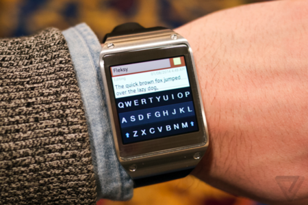 fleksy for galaxy gear