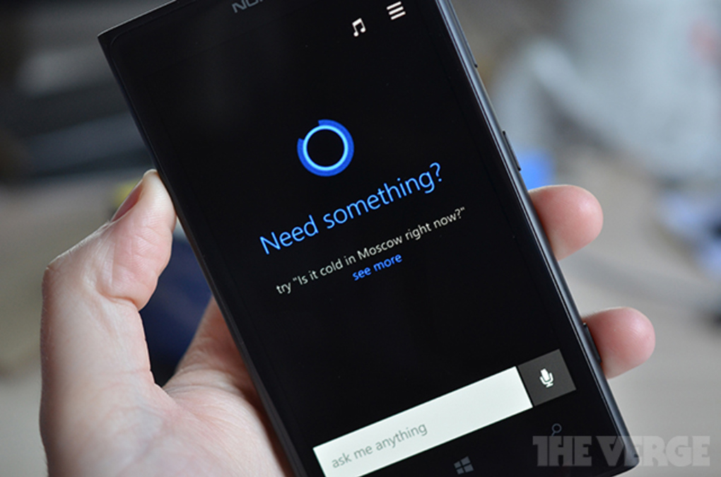 Bild zu «Cortana: So sieht Microsofts Antwort auf Siri aus»