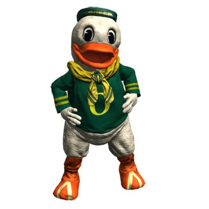 Oregonduckmascot