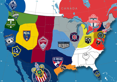 Emerald City Supporters View Topic Mls Map