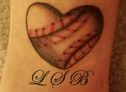 For awhile now, I've been wanting a baseball tattoo. I didn't want anything