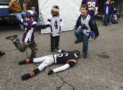 Viking-fan-kids