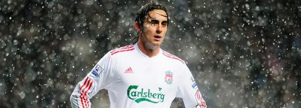 Aquilani in the snow