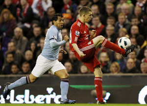 John Flanagan Liverpool Manchester Cityl