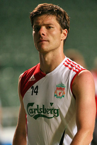 xabi alonso liverpool return