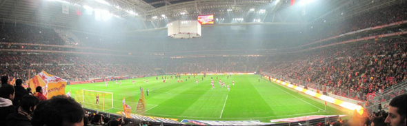 galatasaray istanbul turk telekom arena