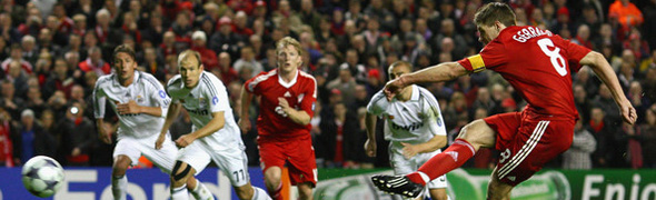 gerrard liverpool penalty madrid