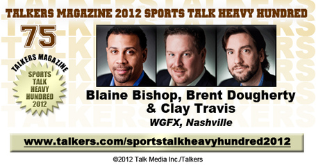 104.5 3HL Clay Travis, Blaine Bishop, Brent Dougherty