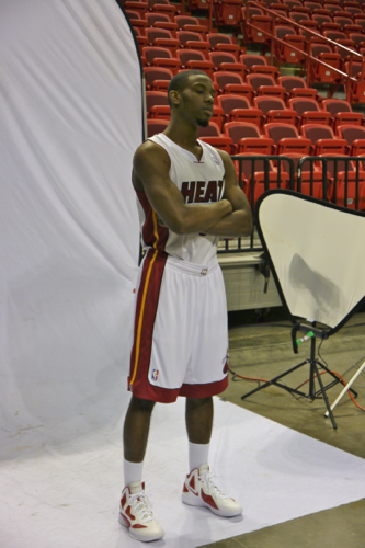 Norris Cole Miami Heat Media Day