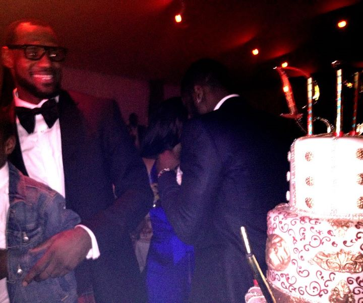 LeBron Birthday NYE Party