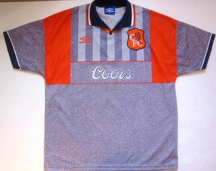 Chelsea 1994-96 away
