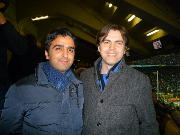 Mohi with Angelo Moratti