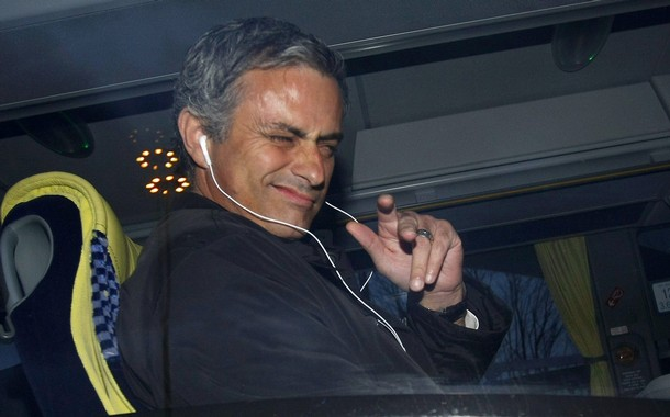 Mourinho is in the house