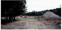 More construction at La Pinatina