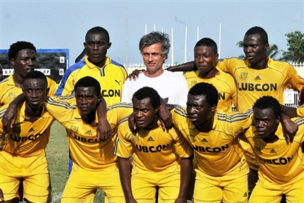 Mourinho in Nigeria