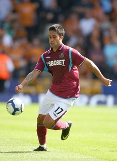 Jimenez doin\' his thing for West Ham