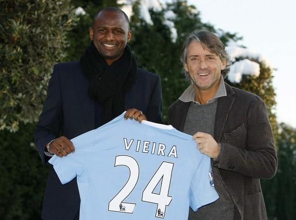 Vieira to Mancester City
