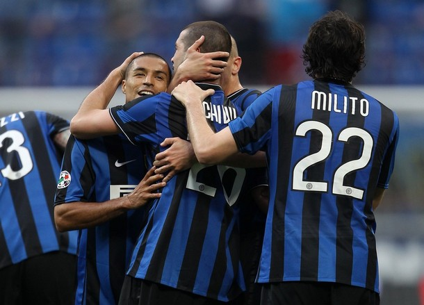 Chivu gets his first goal for Inter