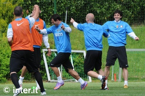 Pre Chievo training