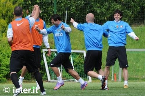 Pre Chievo training