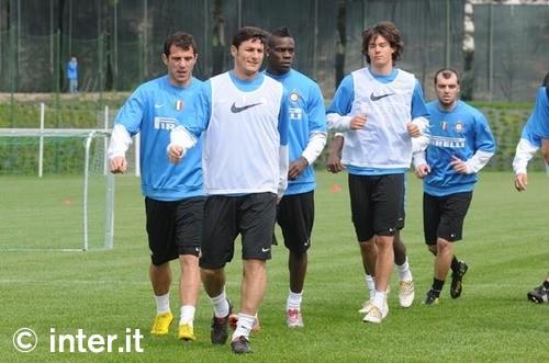 Pre Siena training
