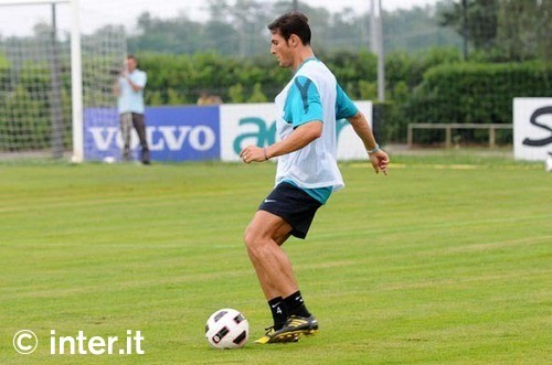 Zanetti is back training with the squad