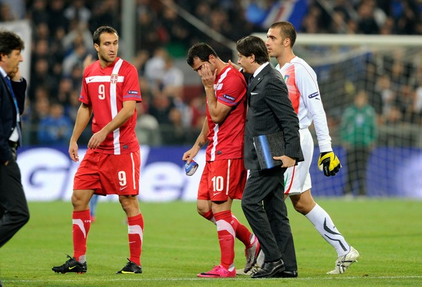Stankovic upset at the abandonment of the Italy-serbia game
