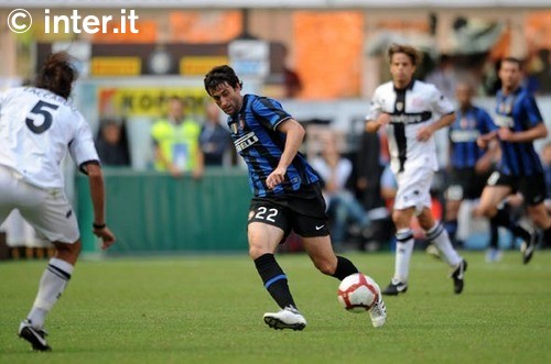 Milito v Parma - how I miss him