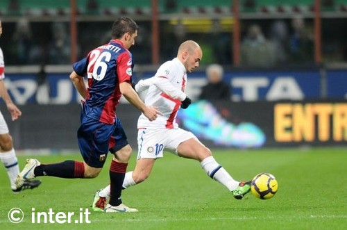 Wes v Genoa - Love those centenary kits!