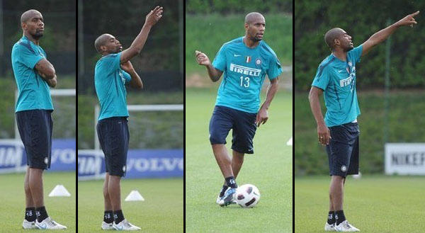 The many moods of maicon