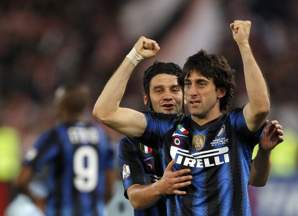 And Milito gets one as well