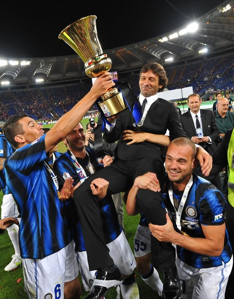 Leo's first title with Inter