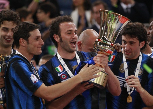 Pazzini's first trophy