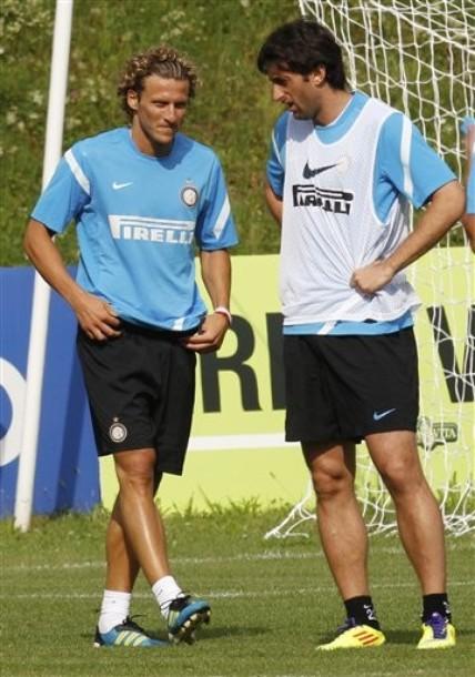 Italy Soccer Forlan