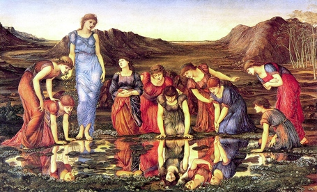 Burne-jones_2c_edward_-_the_mirror_of_venus_-_1875_-_hi_res_medium
