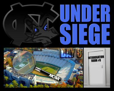 UNC under siege - day 8
