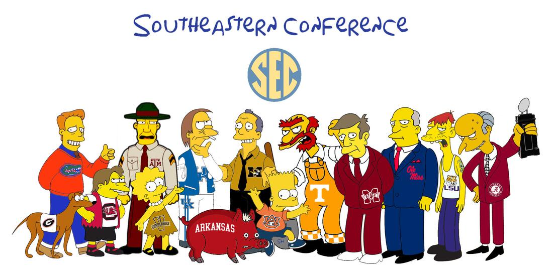 SEC Simpsons