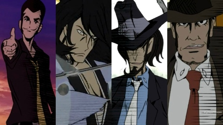 The men in Fujiko's life